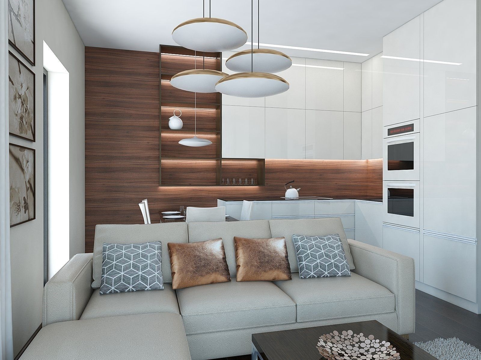 Nice Living Room 3d Model Max Obj 3ds Fbx Skp 1 ...