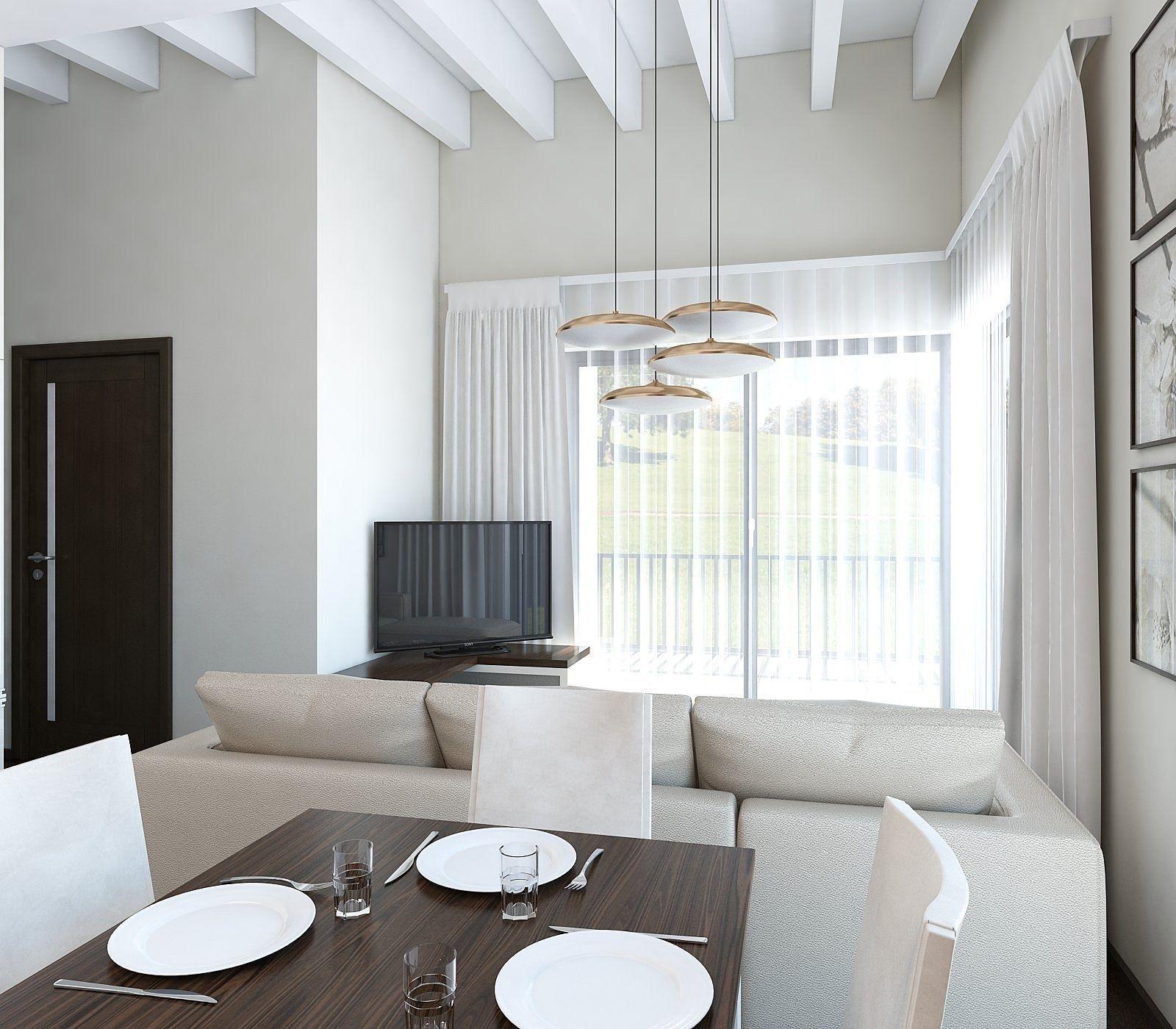 Living Room 3d Model 3d model nice living room | cgtrader