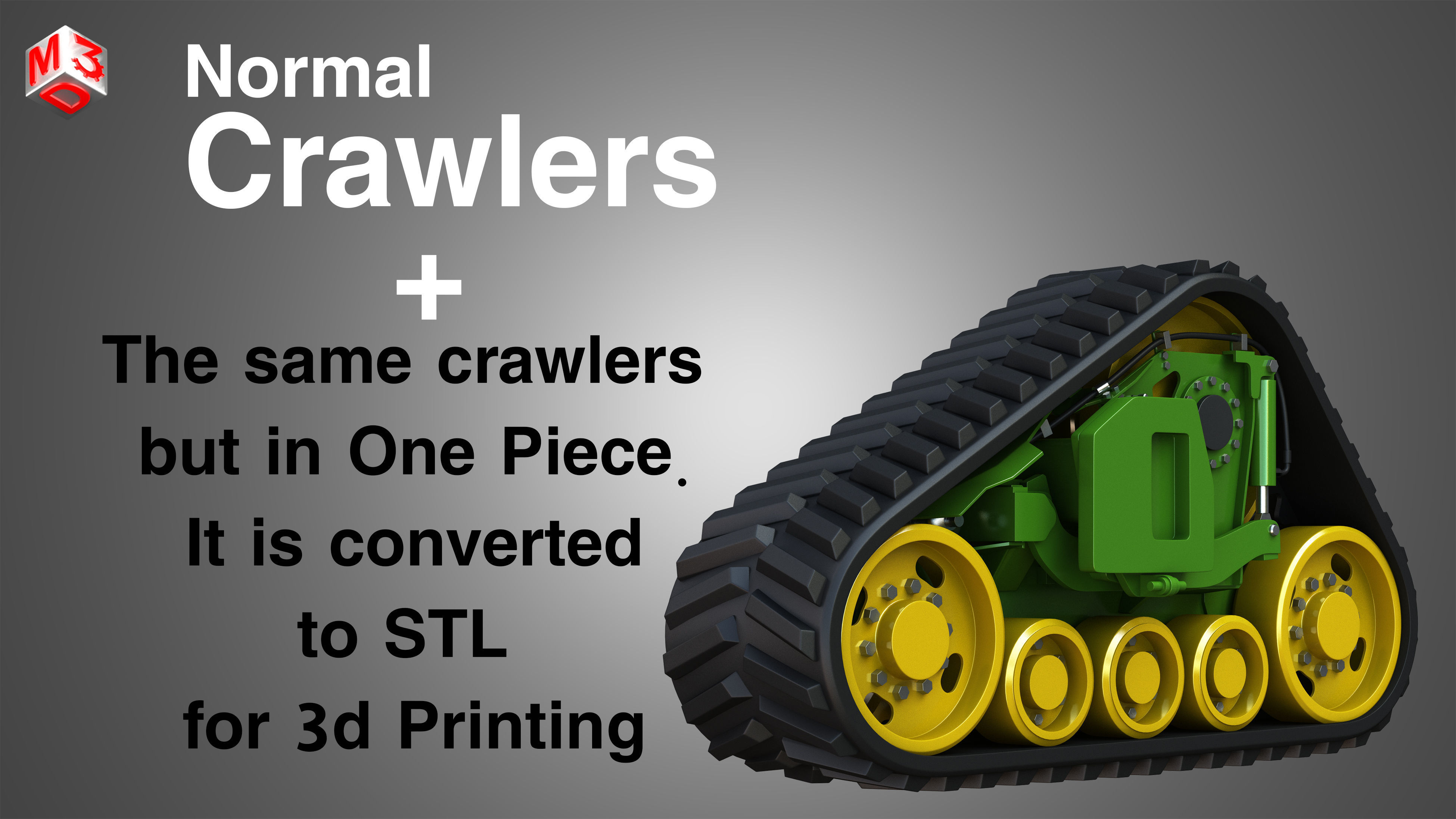 Crawler - Rubber Truck System
