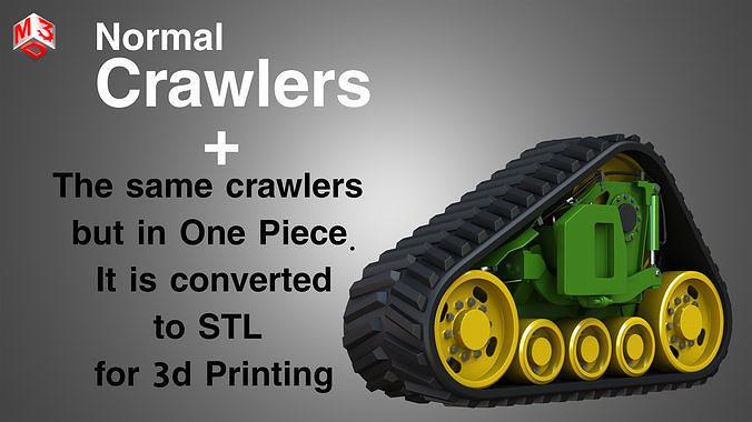 Crawler - Rubber Truck System