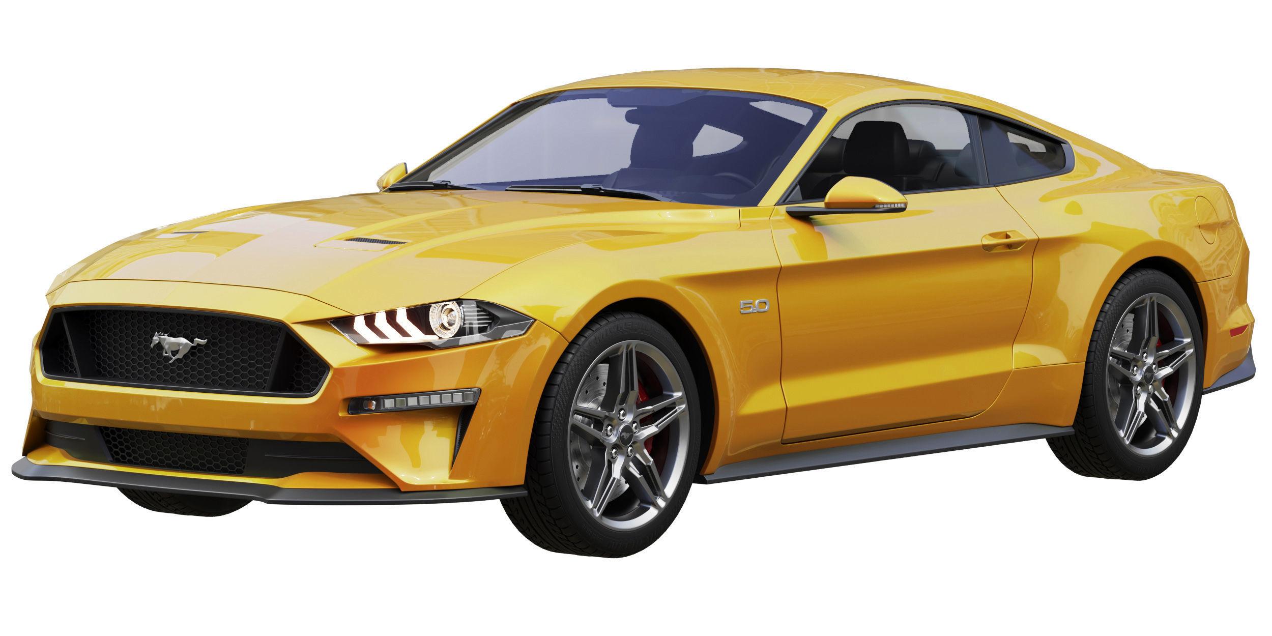 Ford Mustang GT 2020 3D | CGTrader