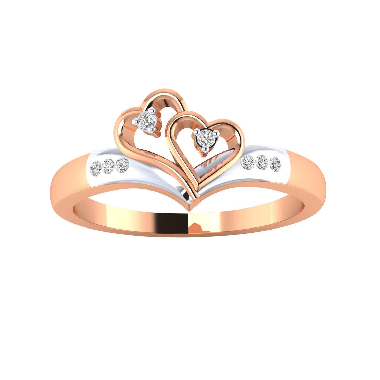 Women heart ring 3dm render 3D print model