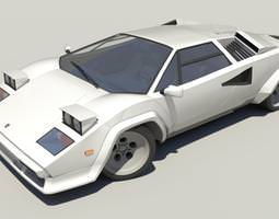 Lamborghini Countach LP5000 3D model