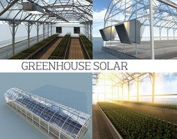 3D model Greenhouse solar