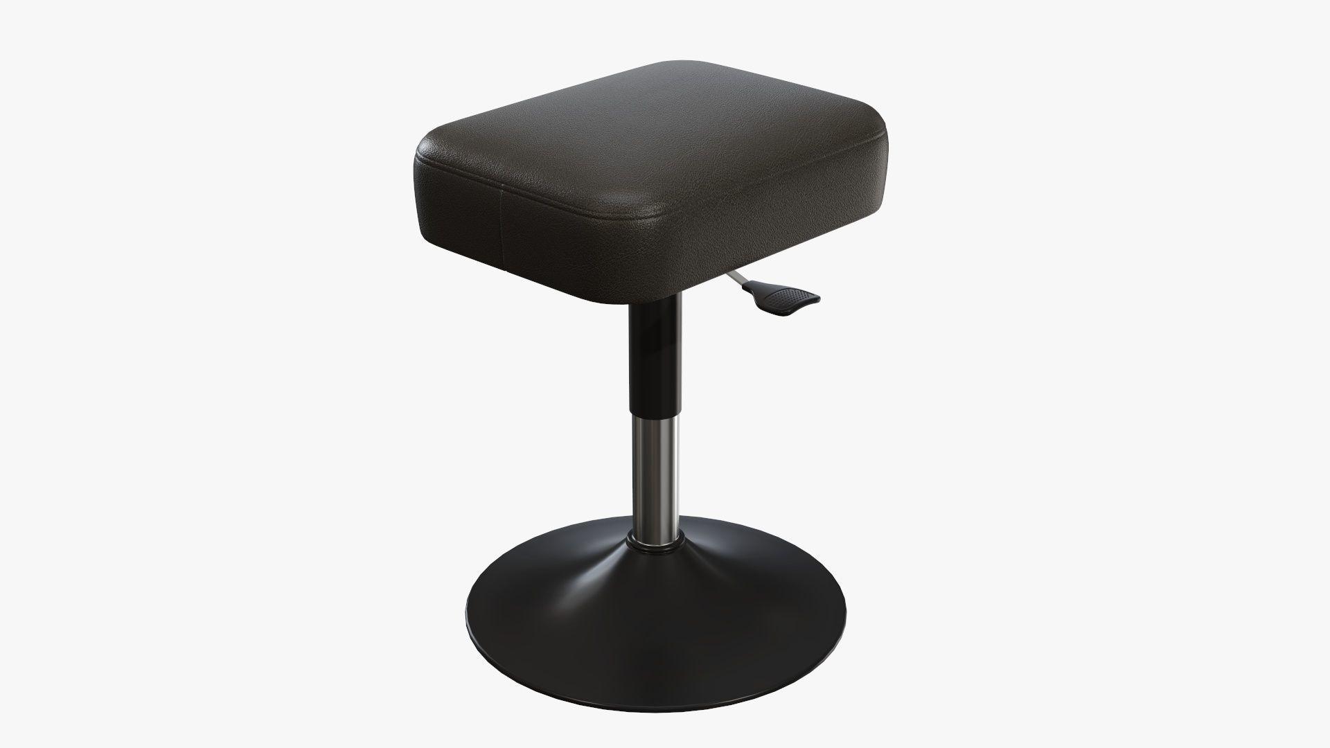 Piano stool adjustable 01