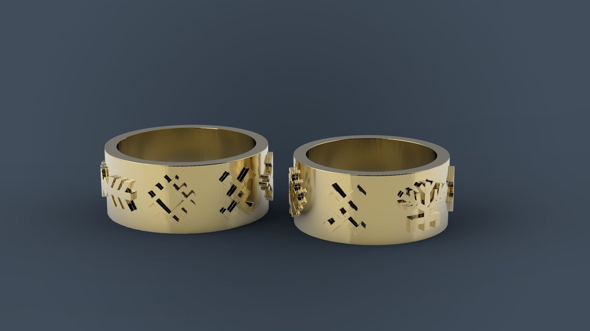 Latvian wedding rings
