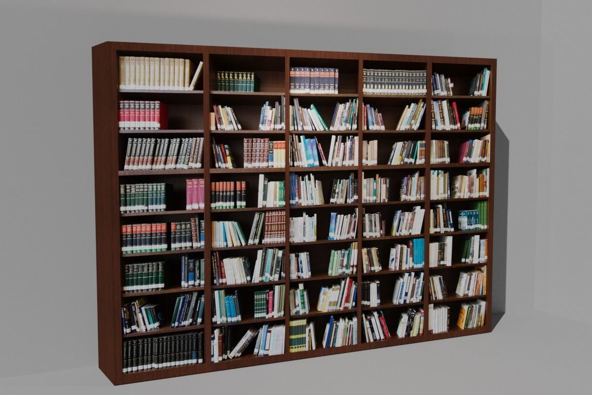 Bookshelf Bookcase Library