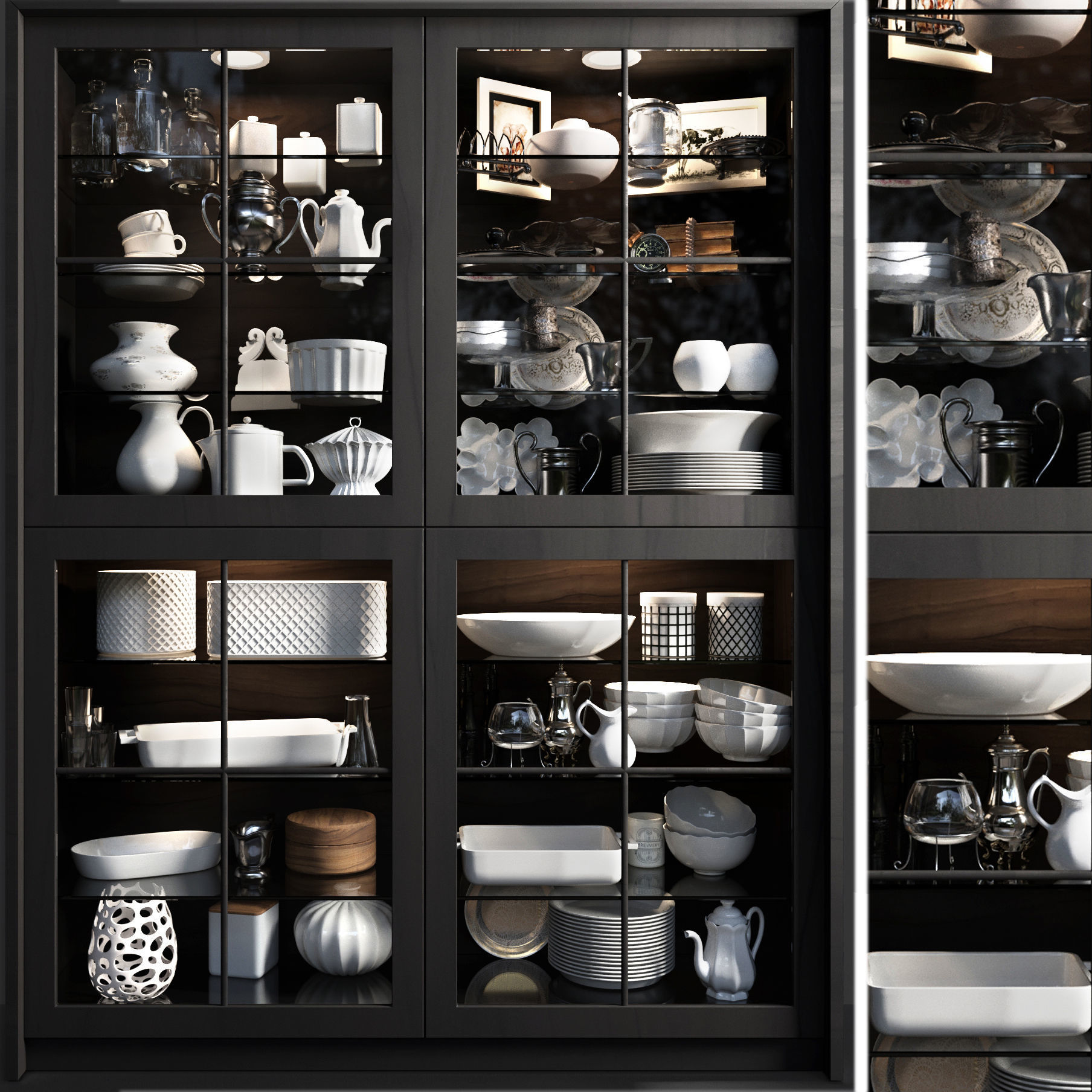 Cupboard with small change for the kitchen