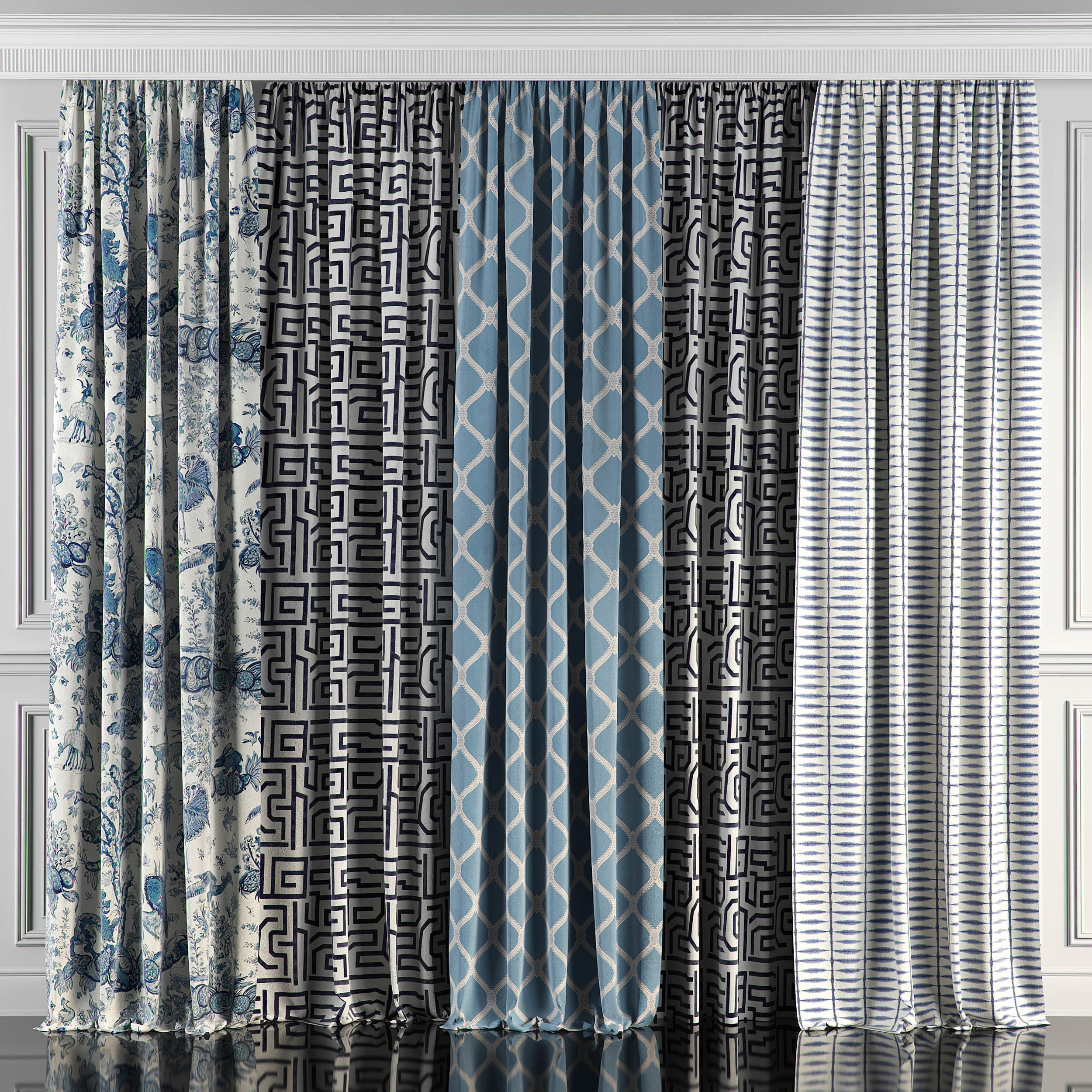Curtain Set 62