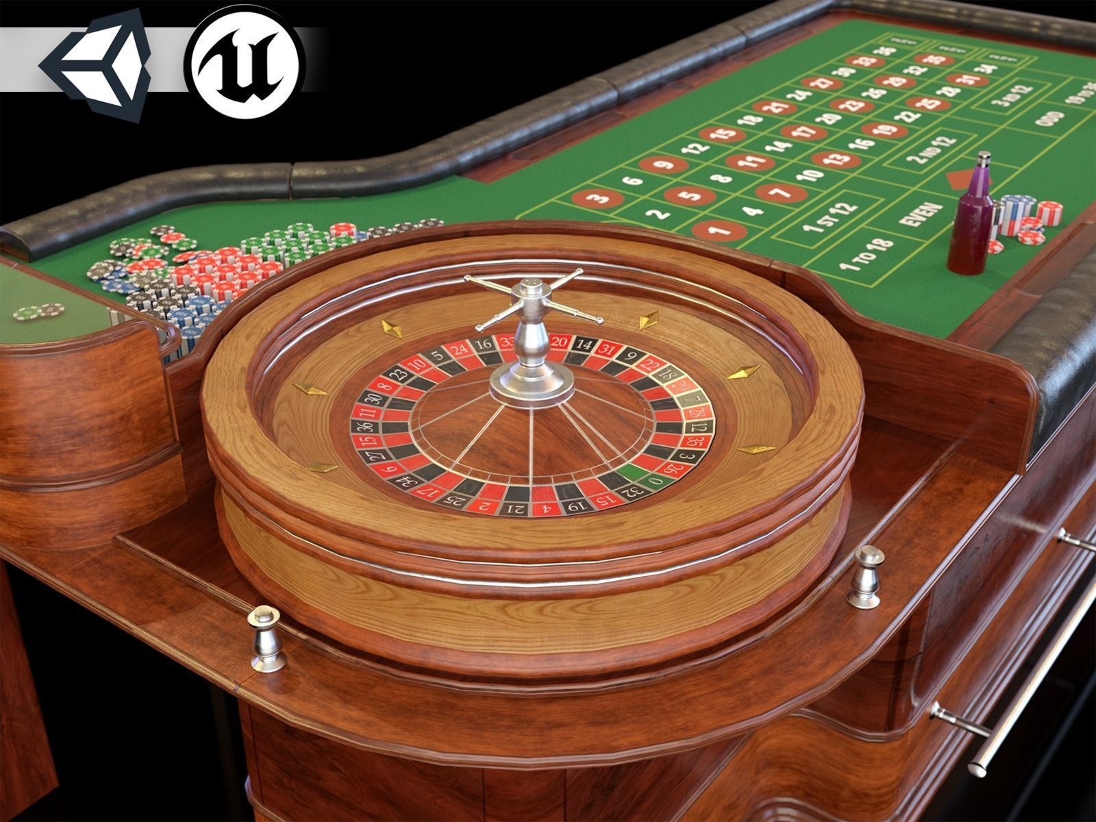 PBR Assets - Casino Tables
