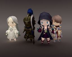 3D model Character game collection 1