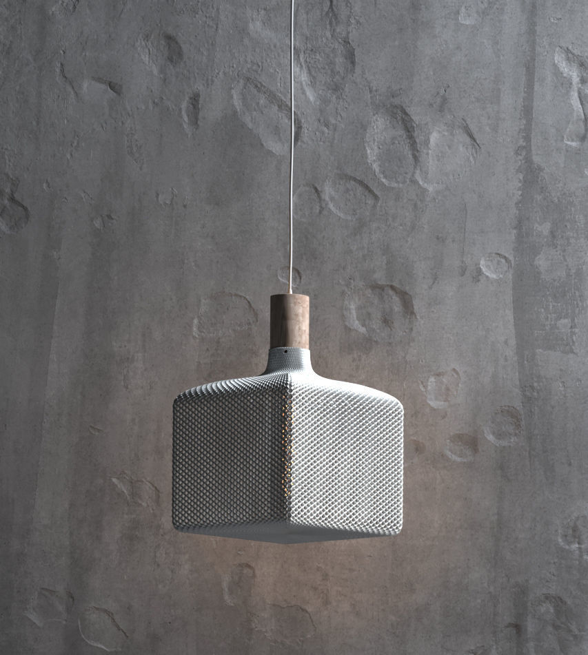 Cube lampshade for table lamp or ceiling