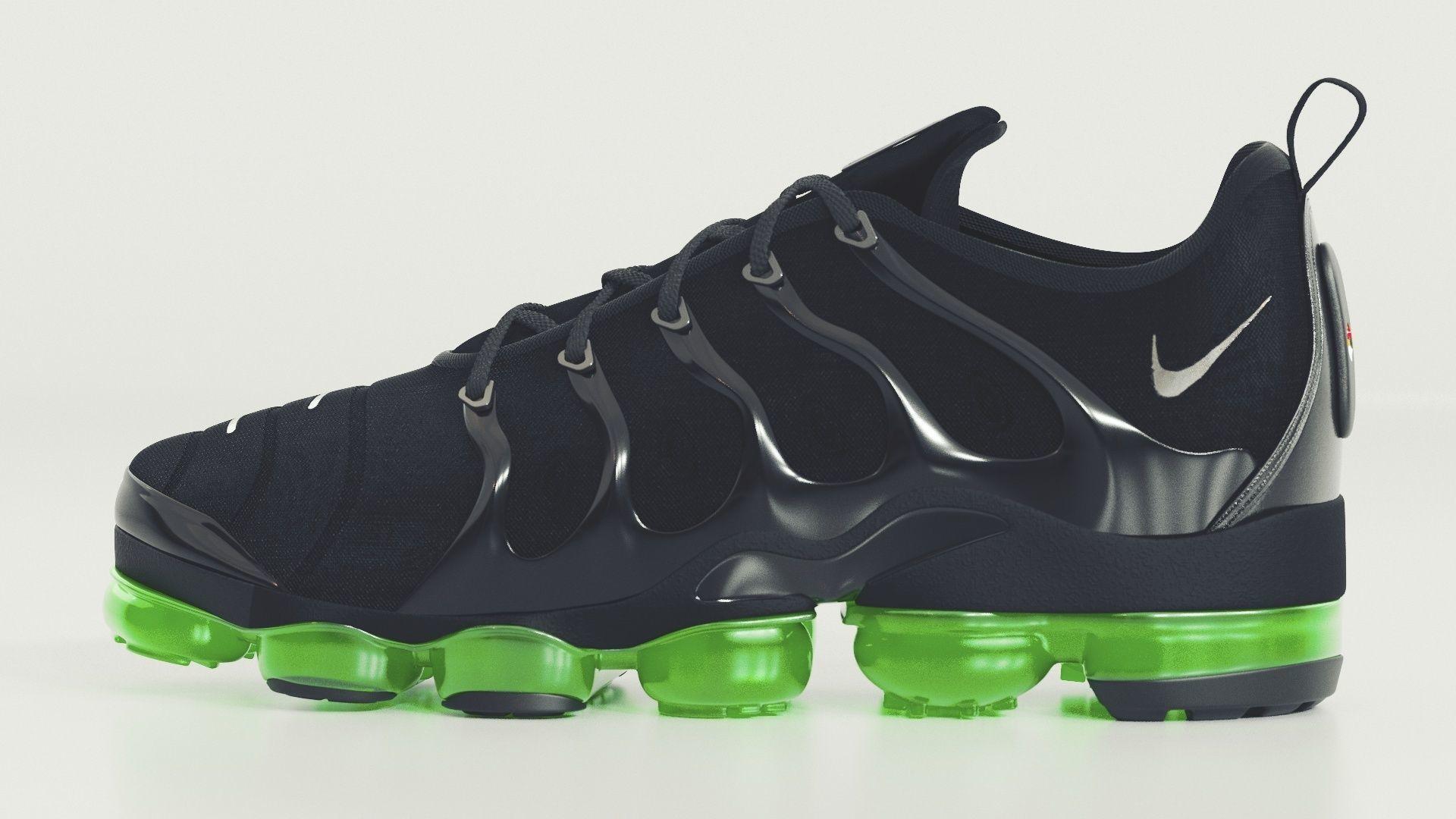 Nike Air Vapormax Plus Black Bolt