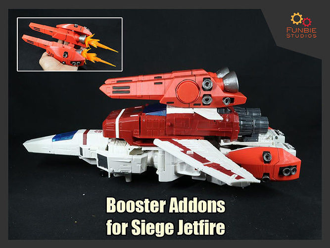 Booster Addons for Transformers WFC Siege Jetfire