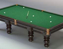 3D model Billiard