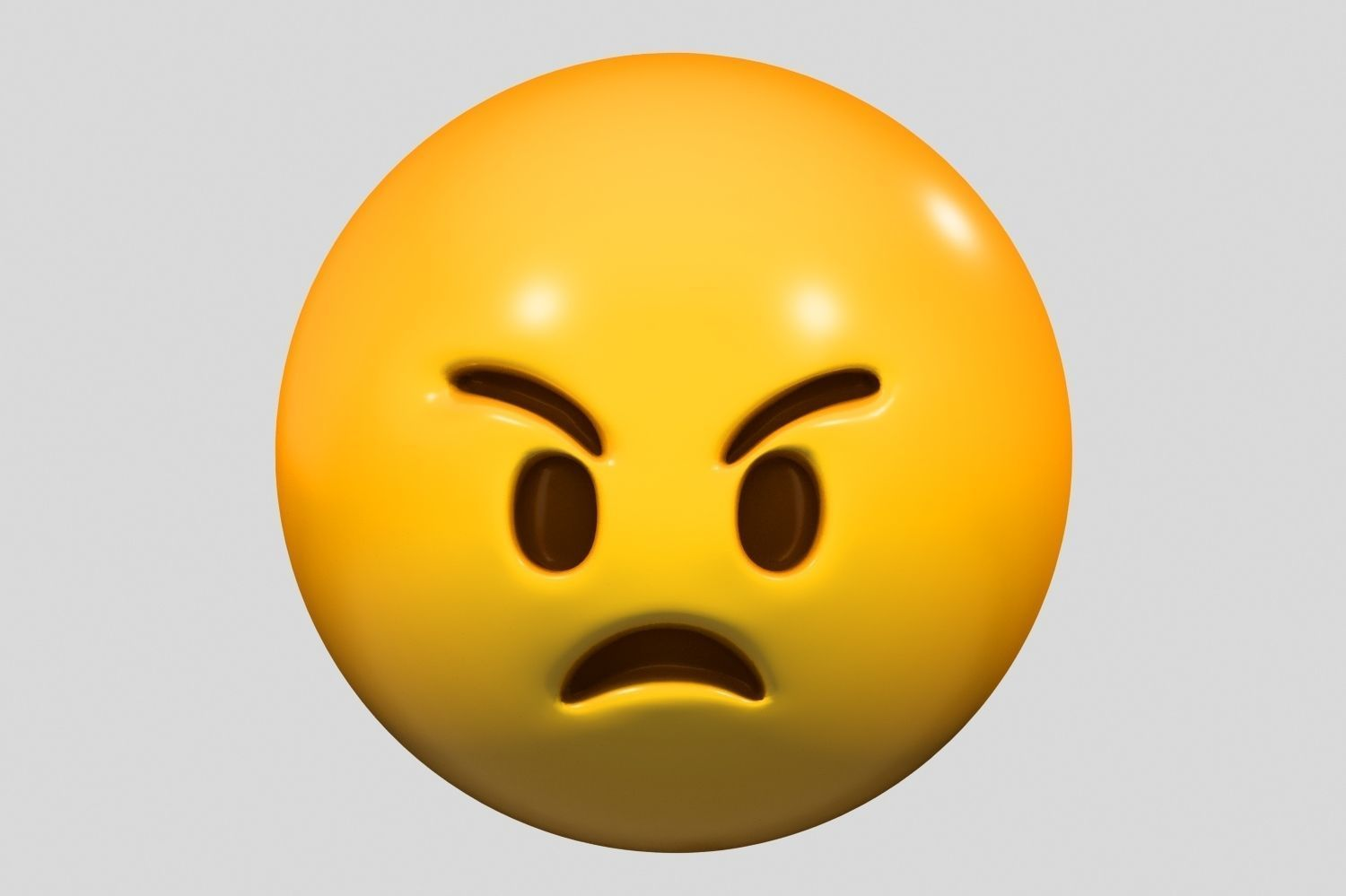 Emoji Angry Face