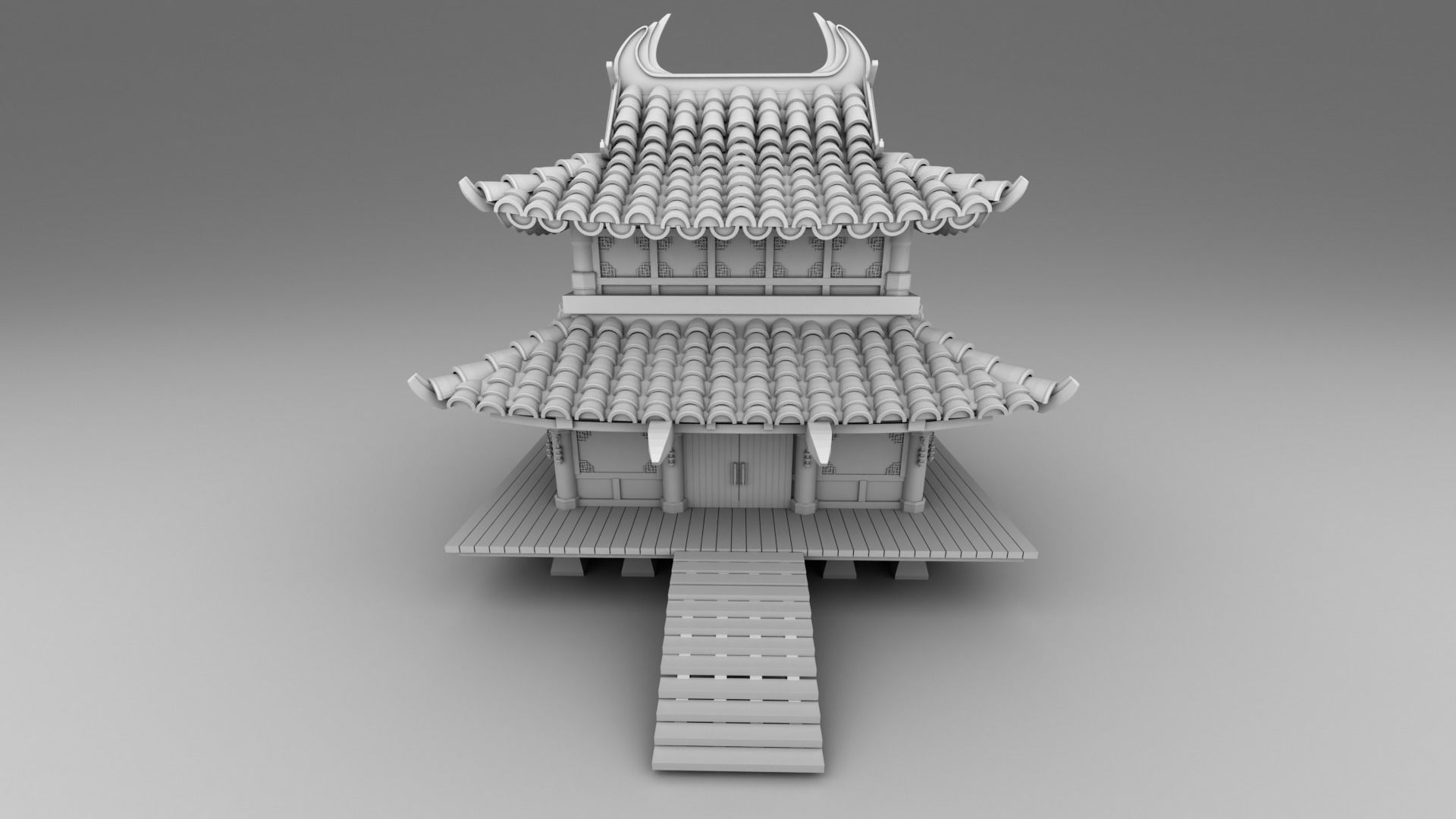 Part 2  - Chinese traditional house 11-17 and 29