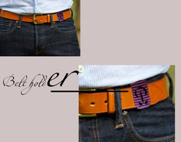 belt holder 3d printable model