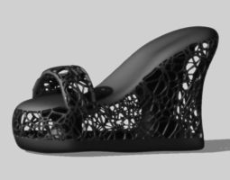 F Shoes 3D print model