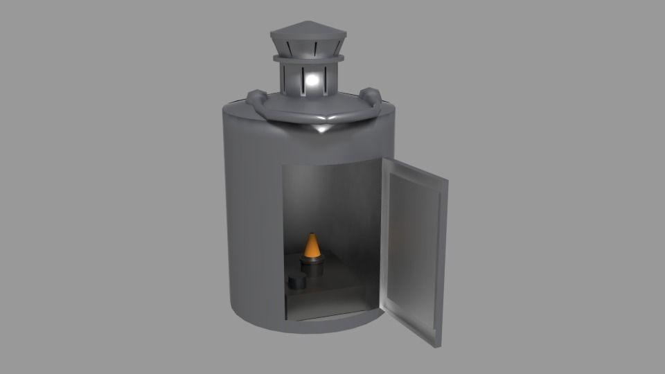 Candlelit Lamp
