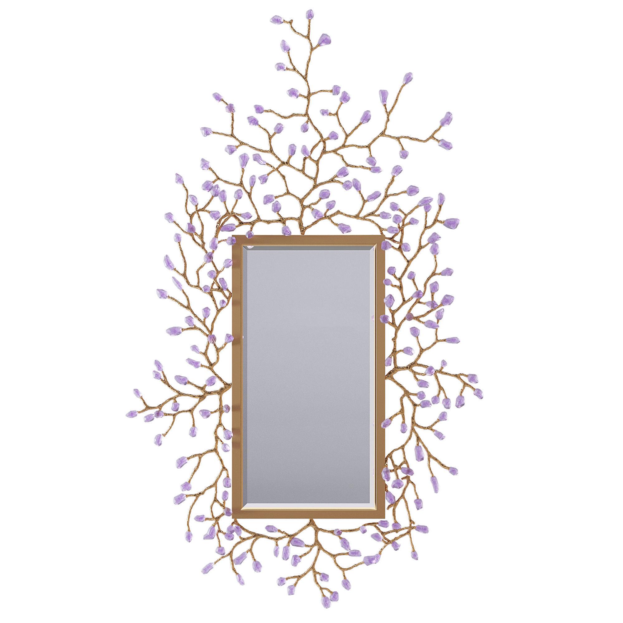 John Richard Budding mirror