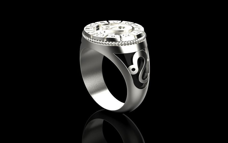 Zodiac ring LEO