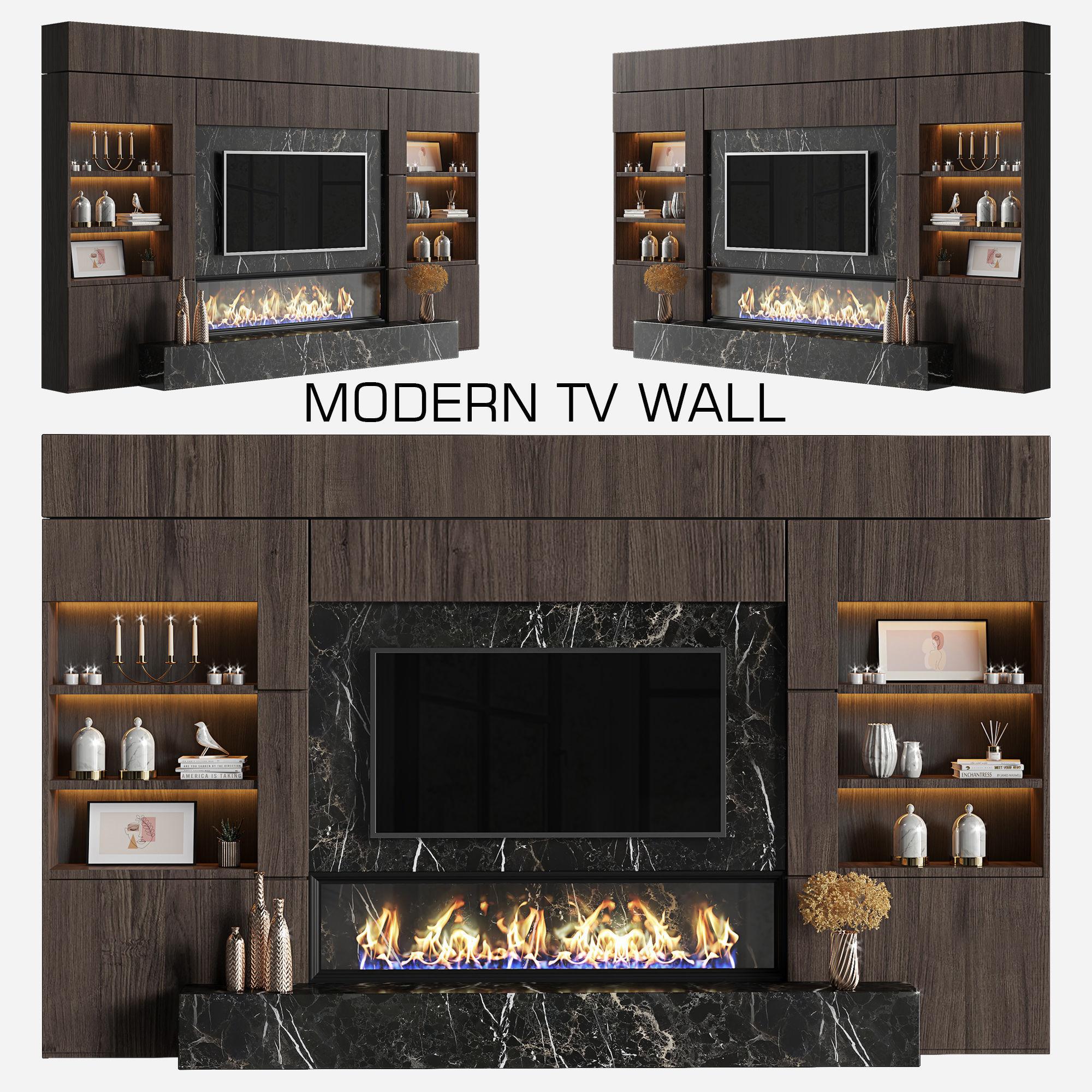 modern tv wall 15