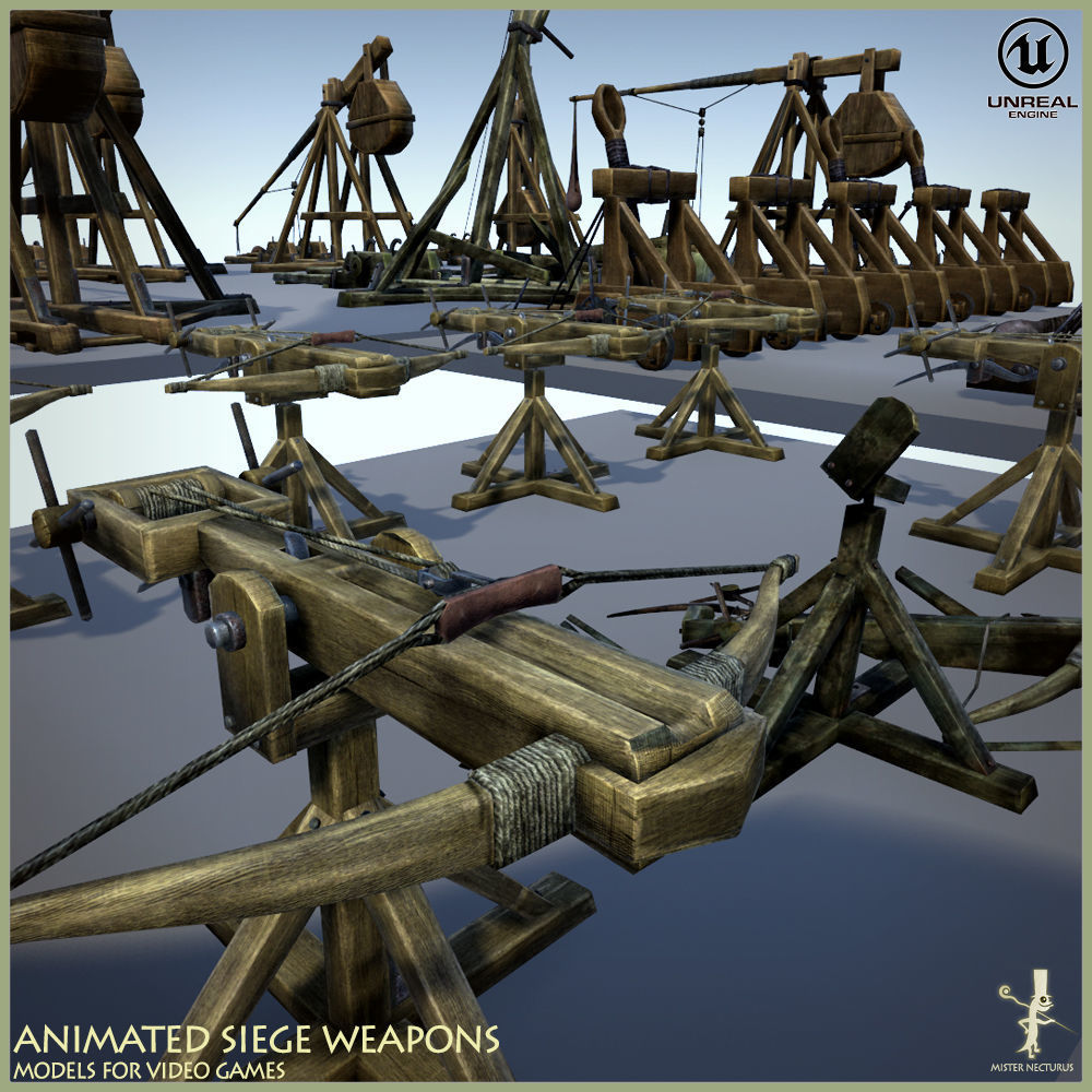 Animated Siege Weapons