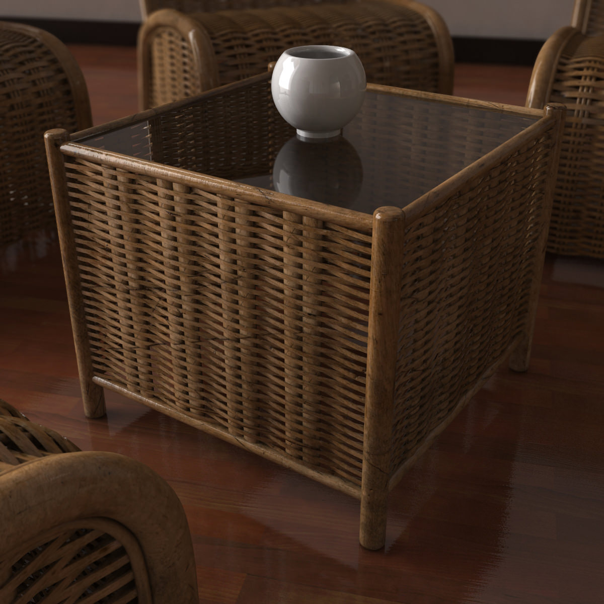 Wicker coffee table 3d model cgtrader wicker coffee table 3d model max obj 3ds fbx mtl 2 geotapseo Image collections