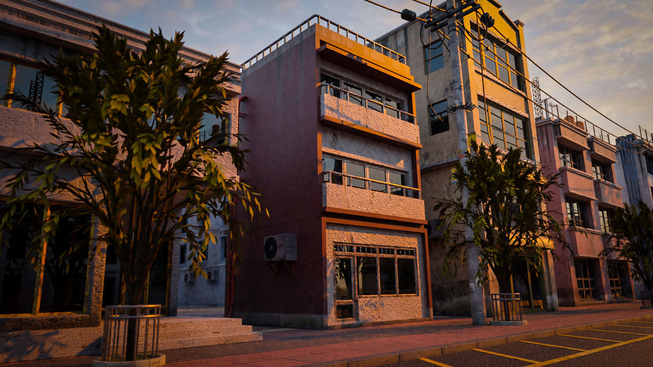 BUILDING URBAN AREA HONGKONG JAPAN CHINA ASIAN 03