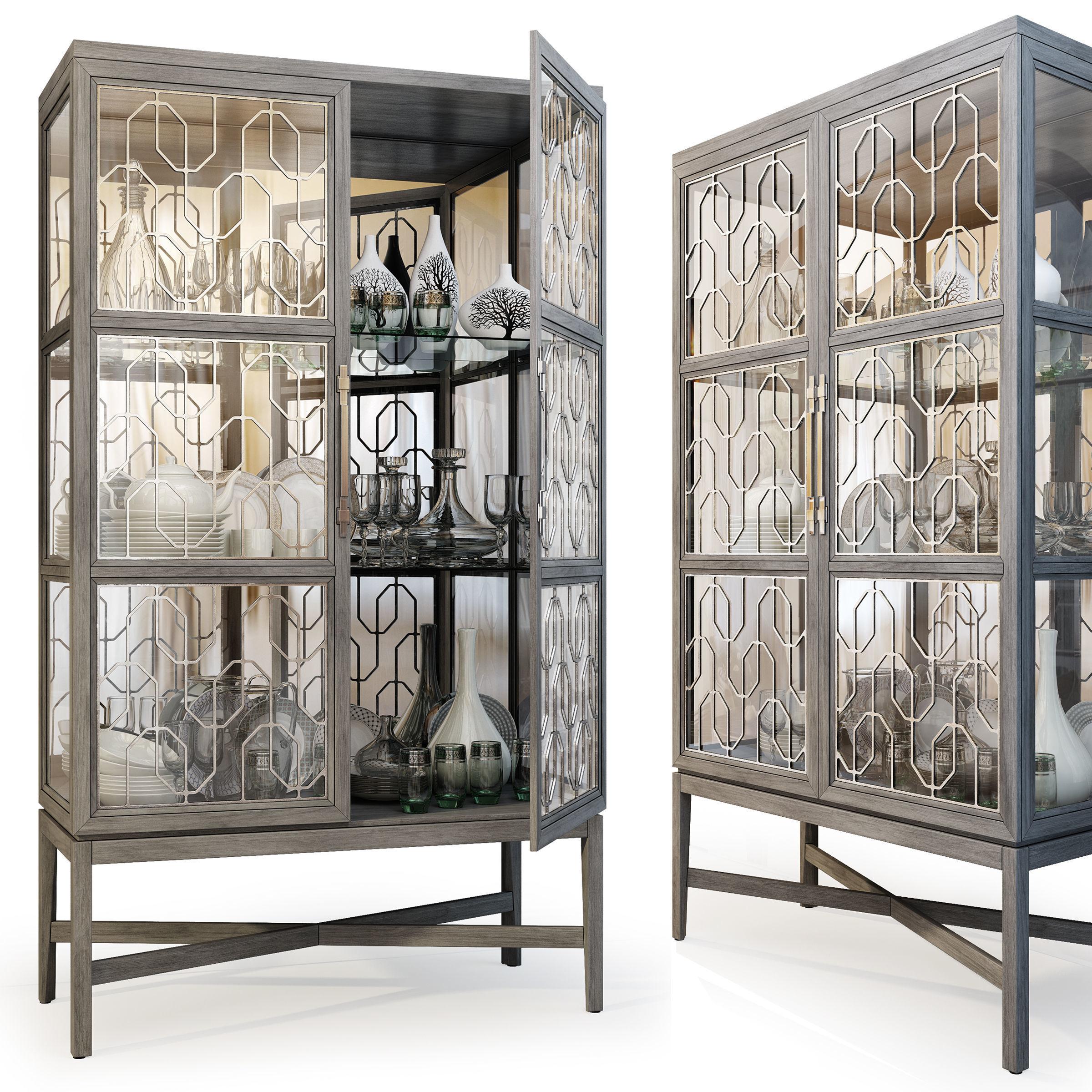 Showcase Ensemble Display Cabinet by Carson