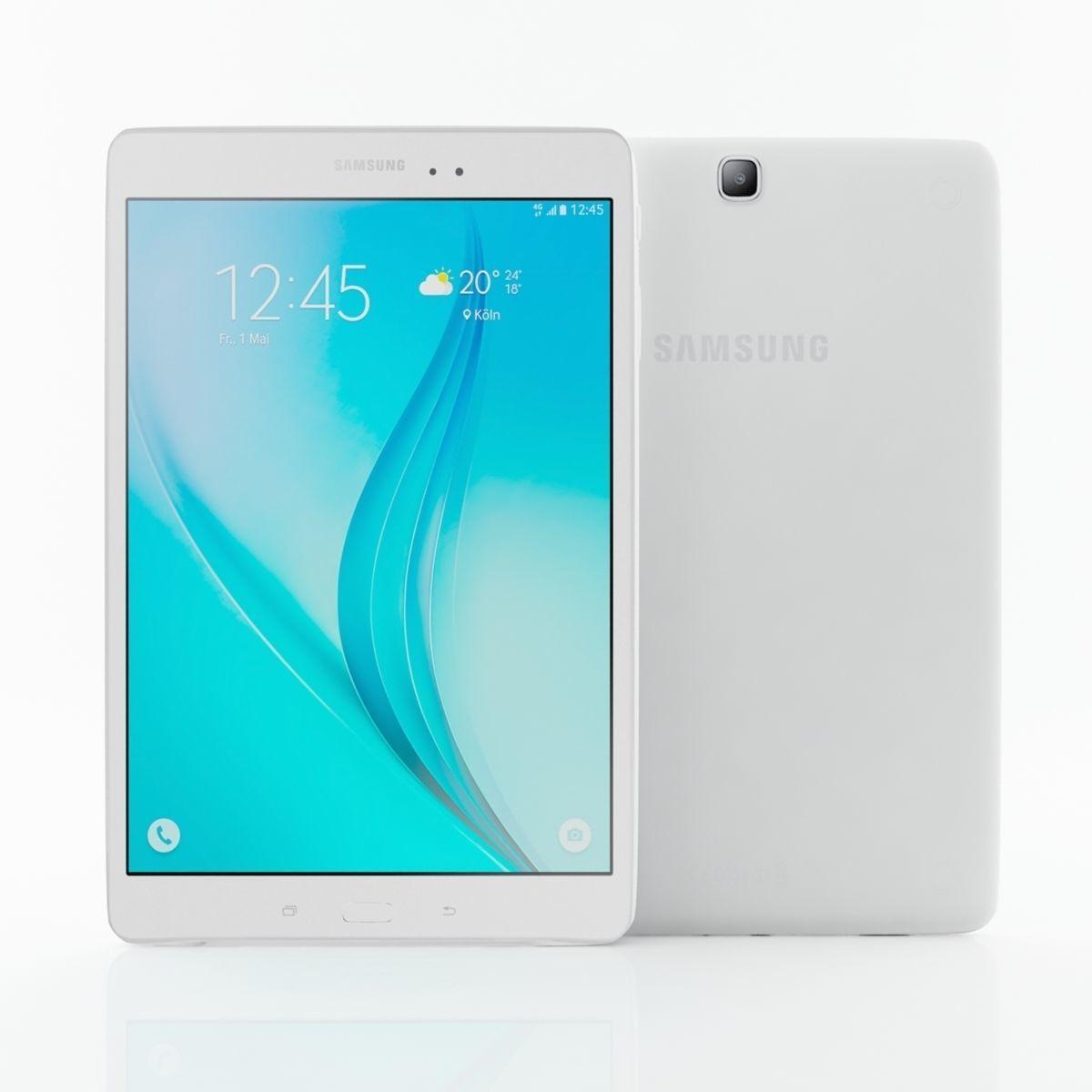 Samsung Galaxy Tab E 9  7 white