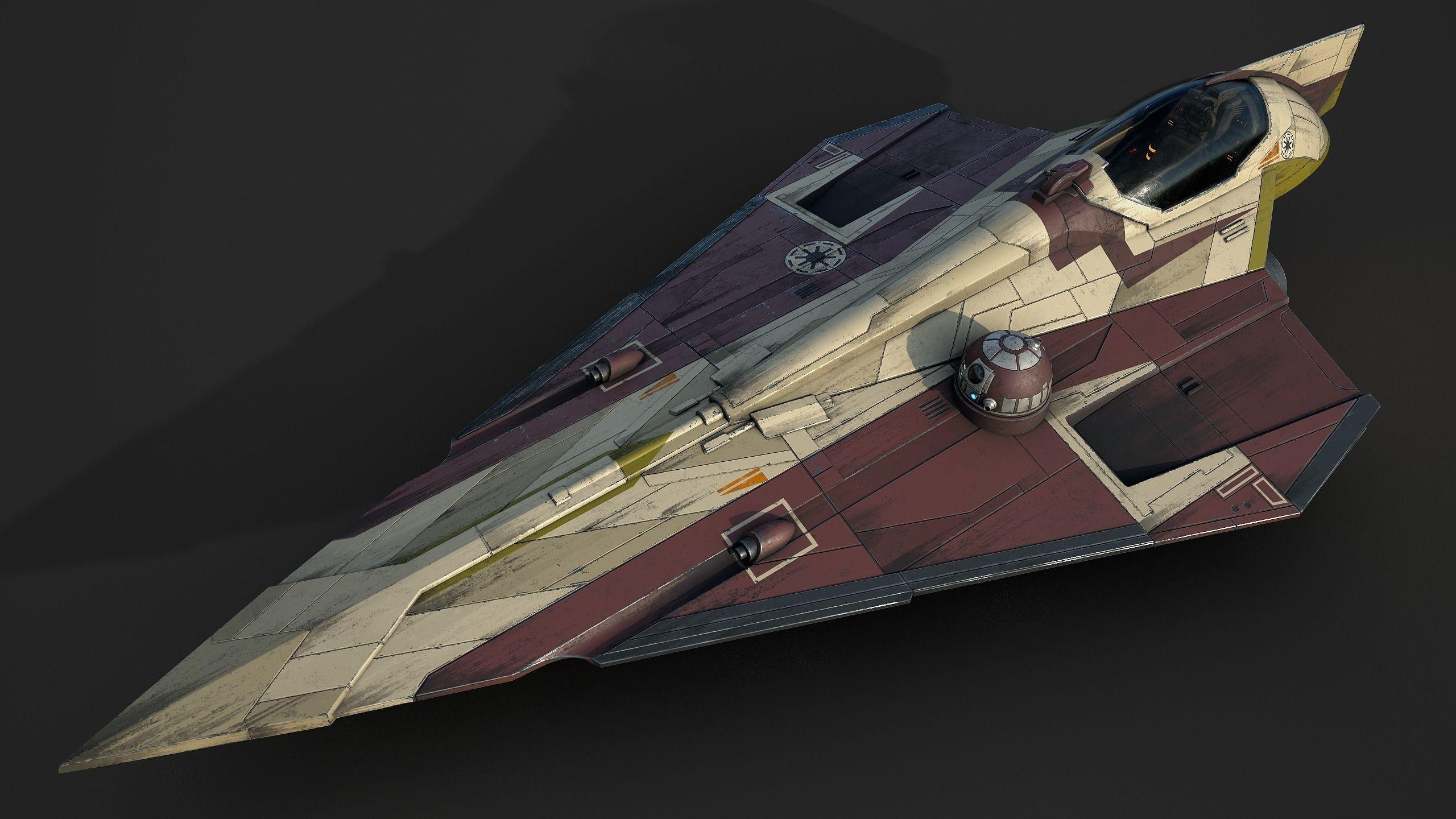 Star Wars Jedi Starfighter - Obi Wan Kenobi