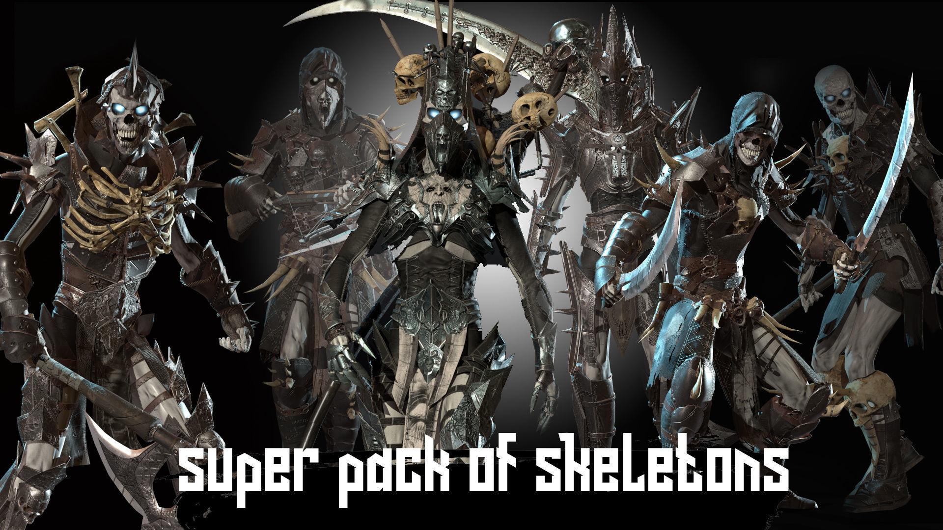 Skeletons super pack