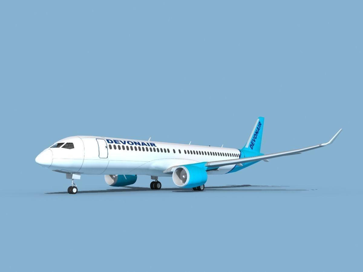 Airbus A220-300 Devon Air