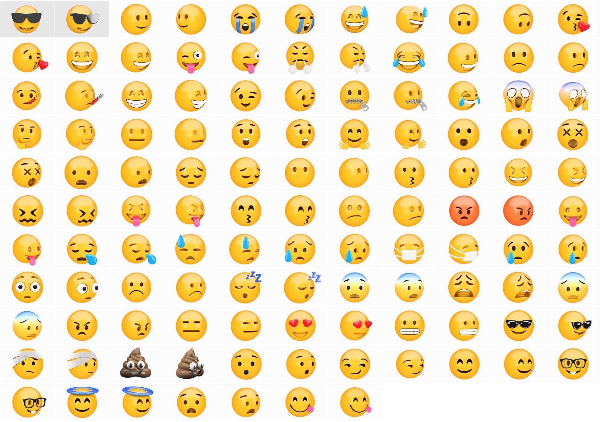 Emoji huge pack collection 59 x