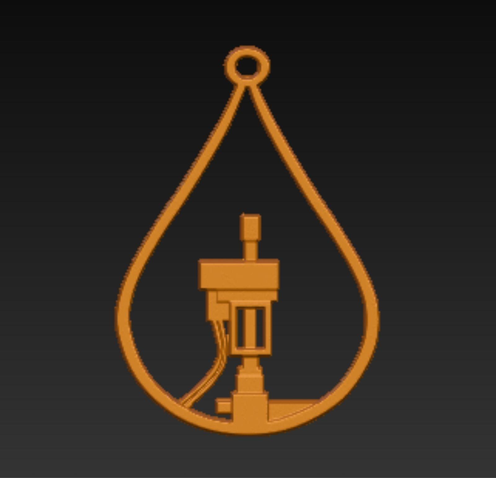Oil Field Screw pump in droplet