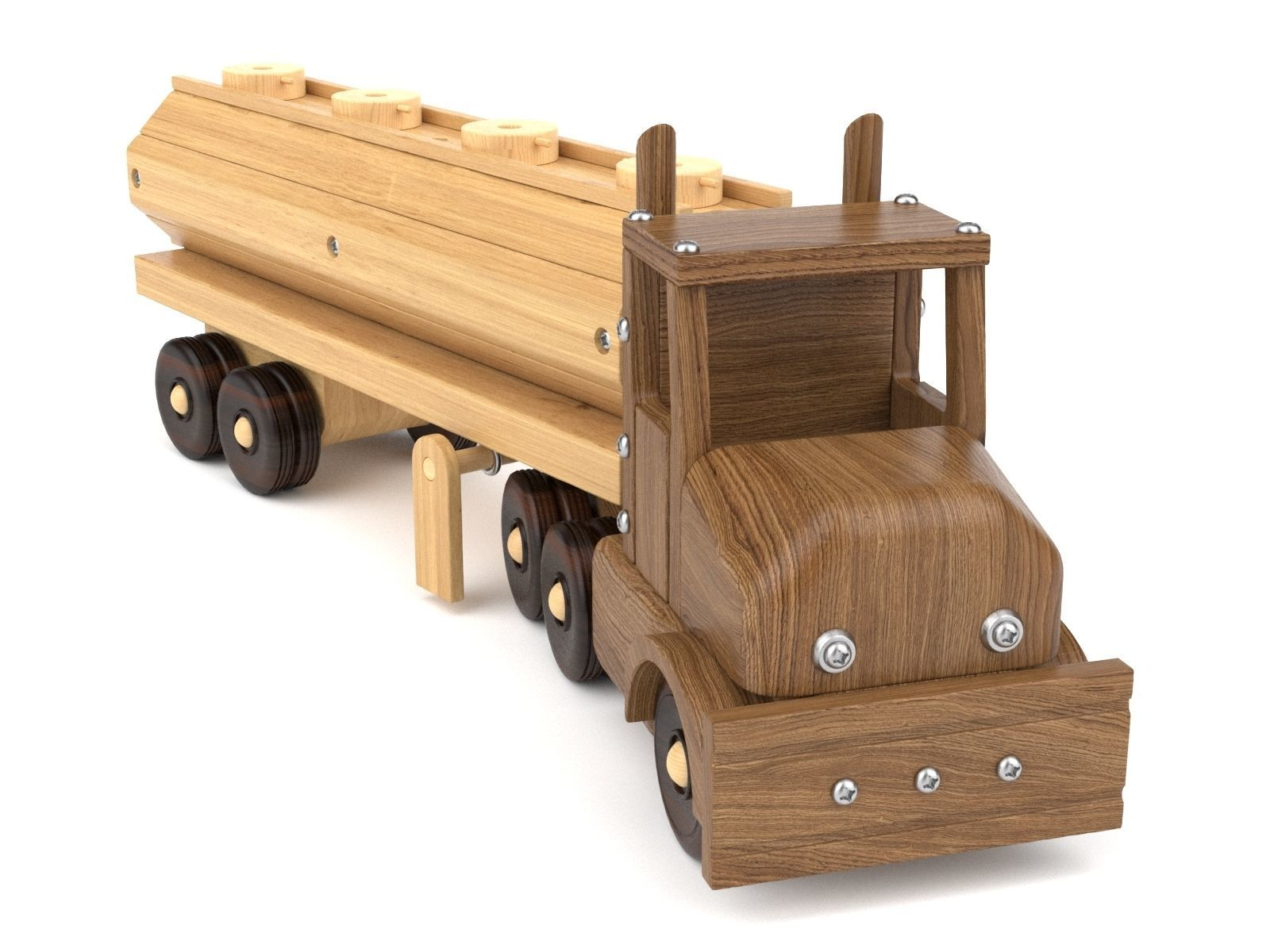 Wooden toy truck 28