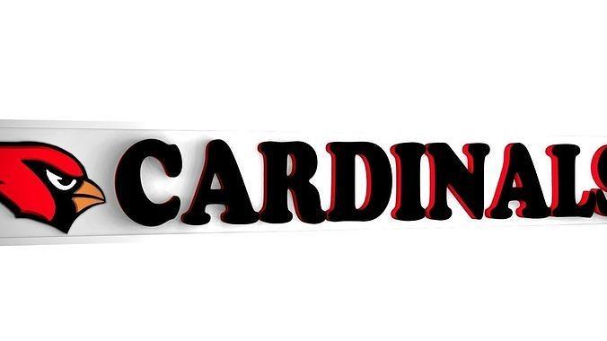 Cardinals logo plate 1
