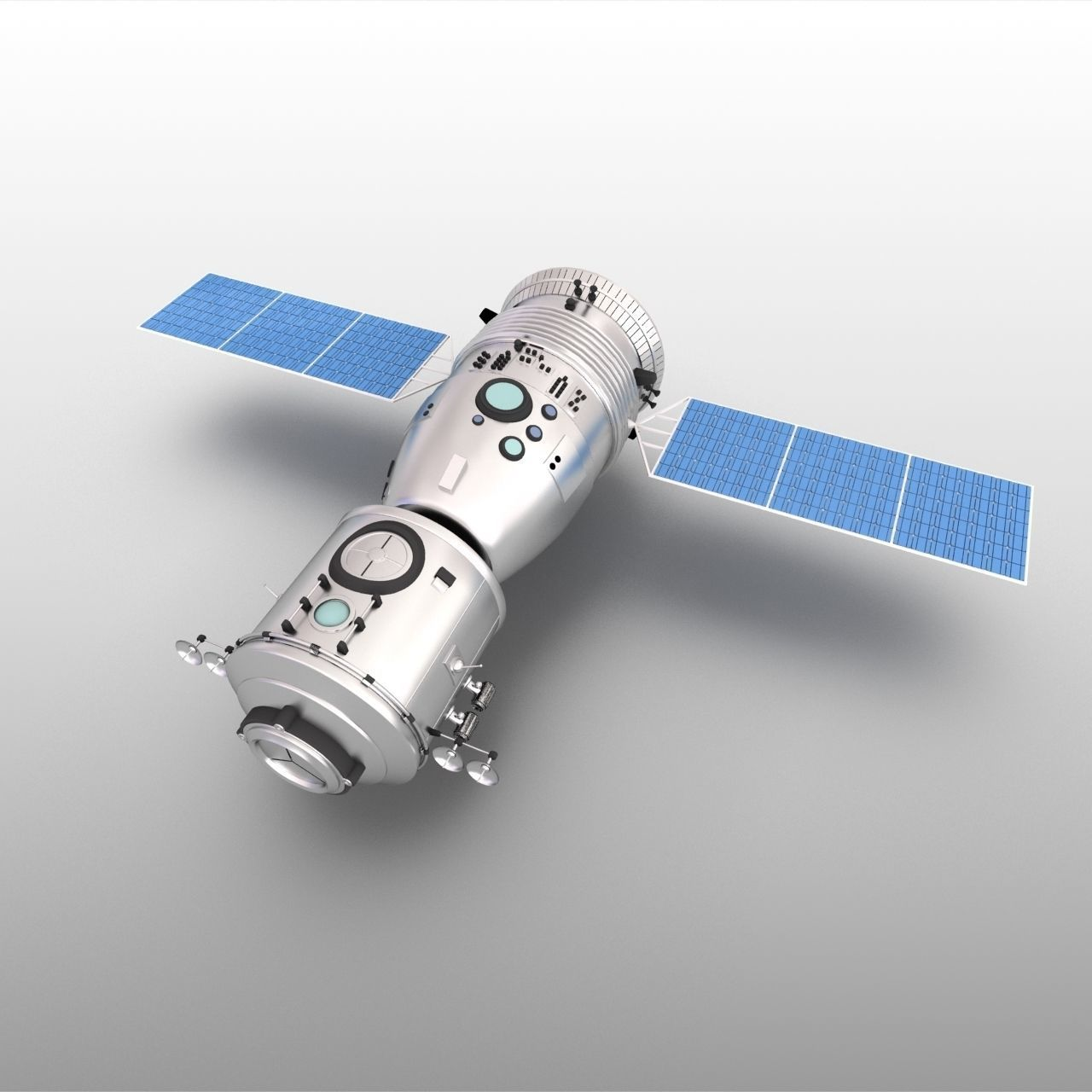 Spacecraft Shenzhou nine earth Tiangong-1 manned laboratory