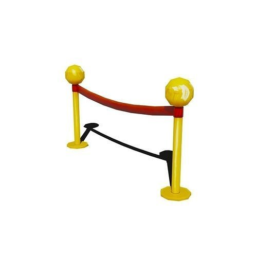 Low Poly Stanchion with animation