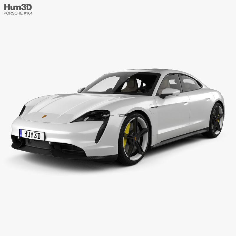 Porsche Taycan Turbo S with HQ interior 2020