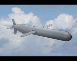 3D Tomahawk Missile
