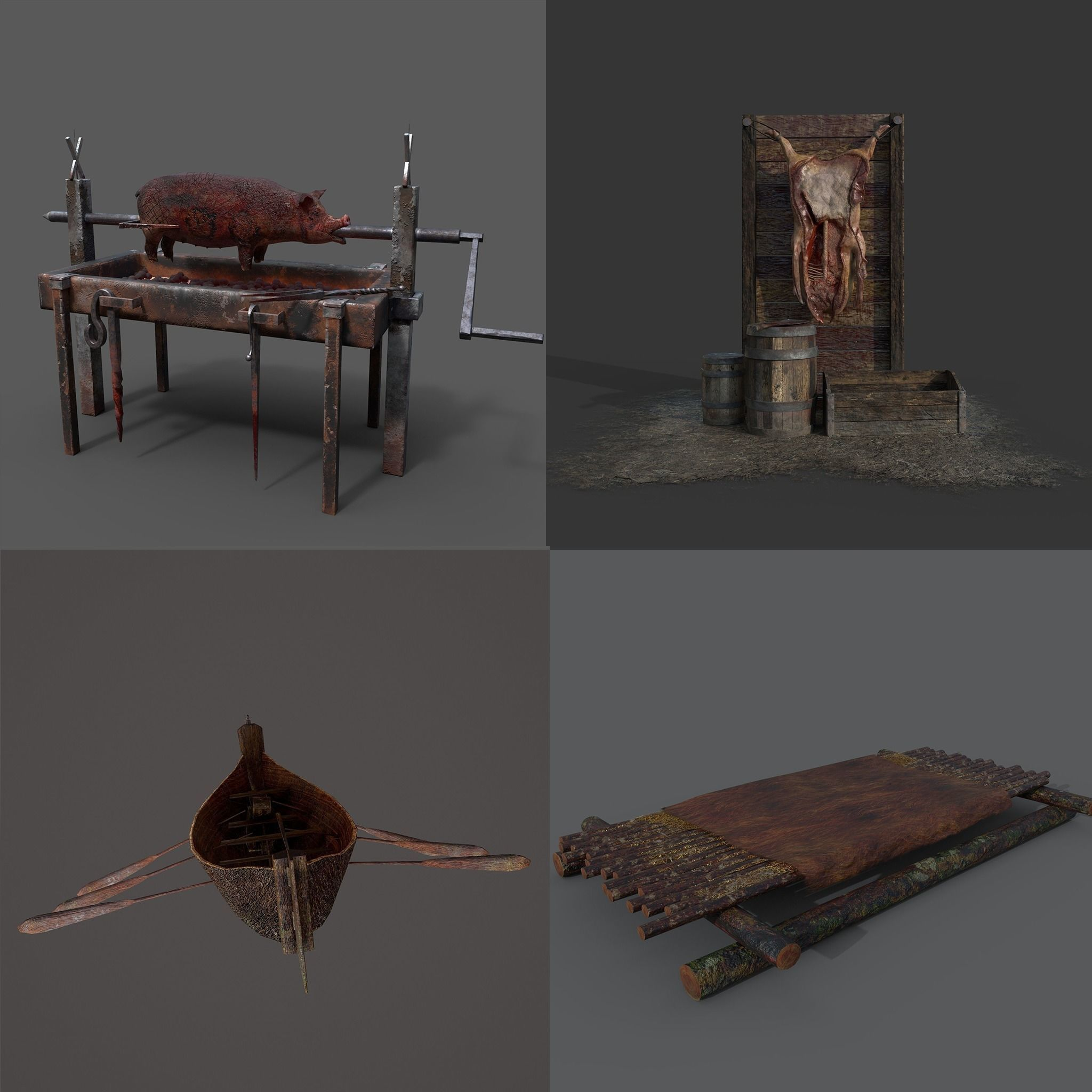 Medieval Prop Mix Three