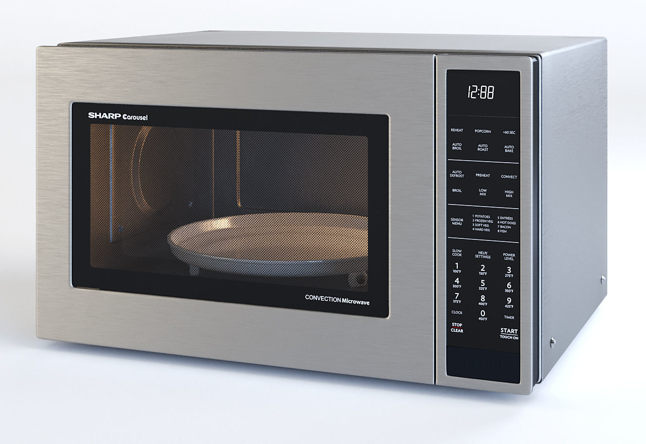 Microwave Oven SMC1585BS - by SHARP