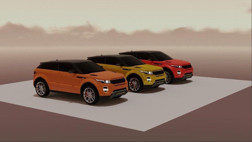 Range Rover 3 in 1 pack