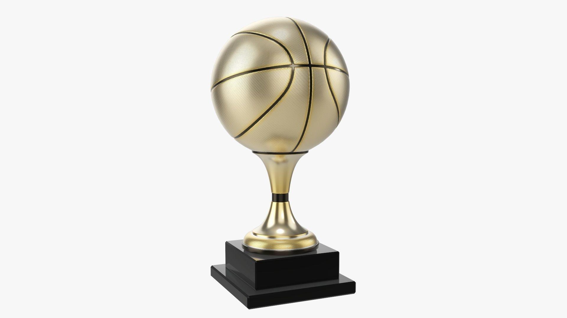 Trophy ball basketball