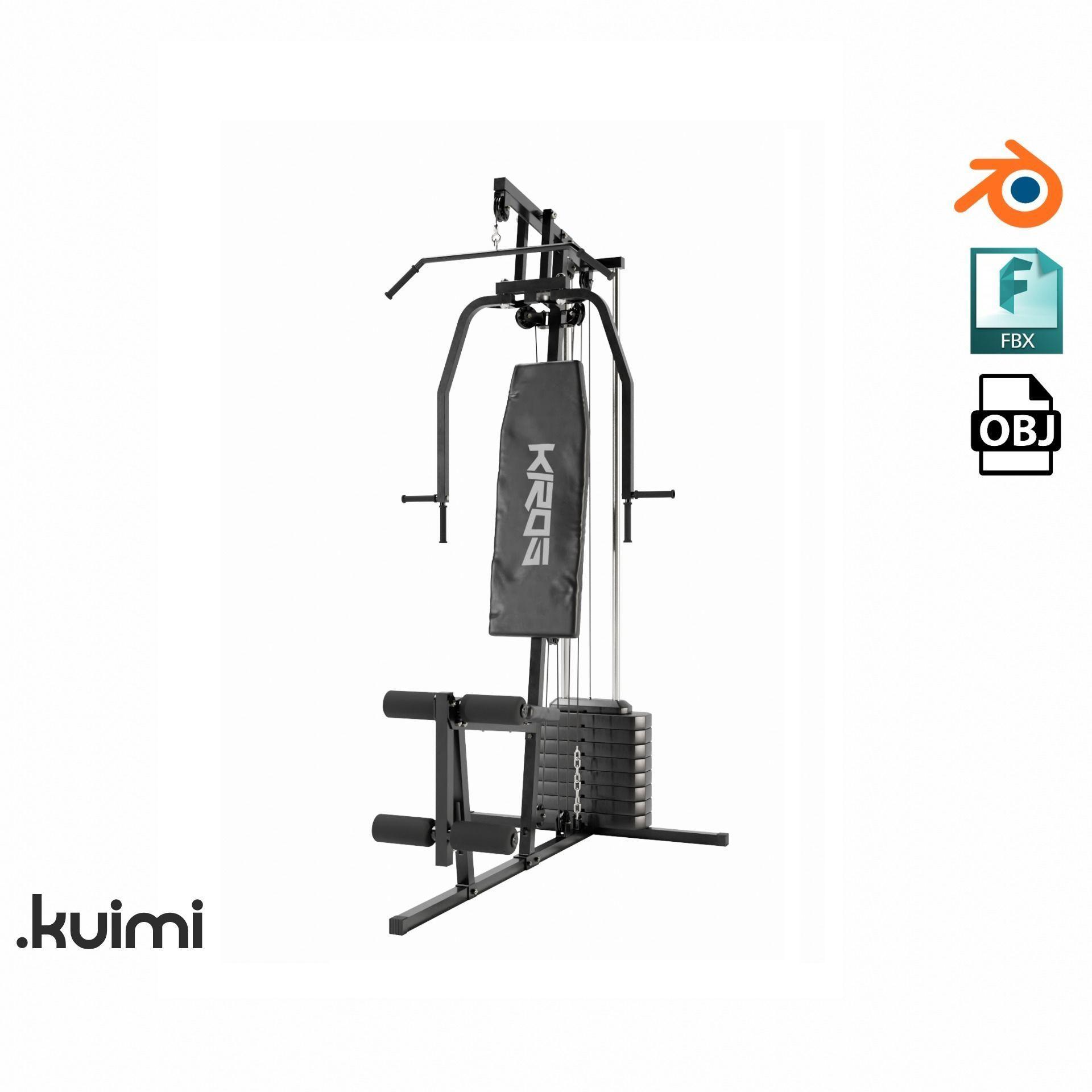 Gym Equipment 002