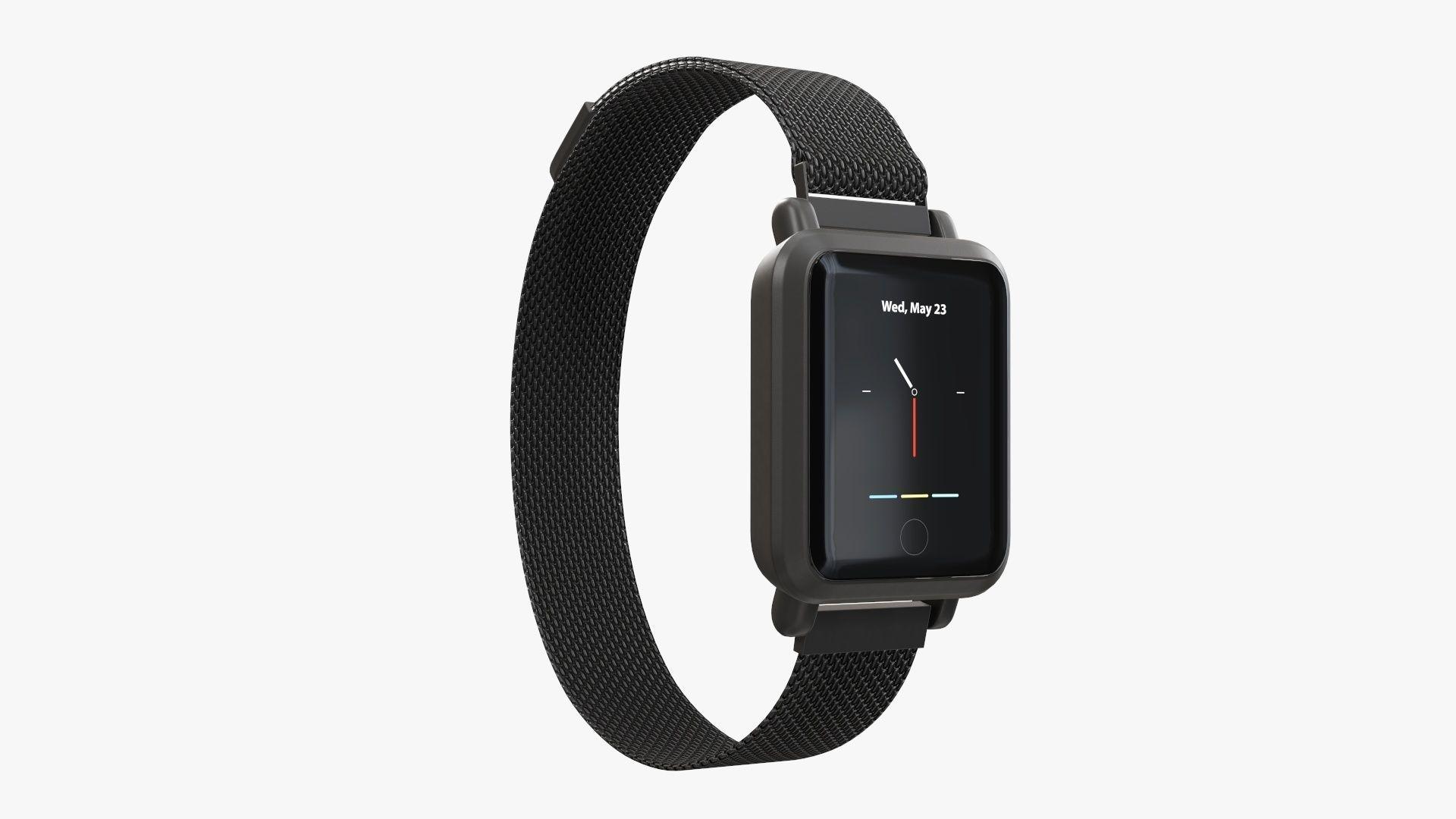 Smart watch 02 closed