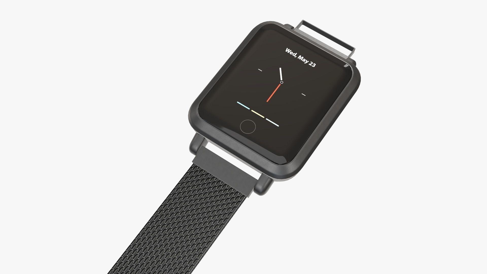 Smart watch 02 open